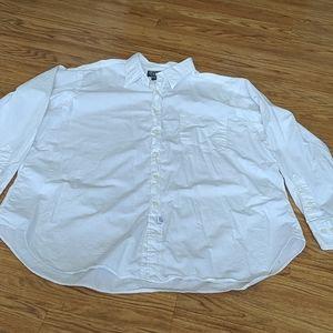 Polo by Ralph lauren white button down size 17 1/2